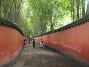 竹が美しい杜甫草堂