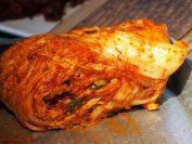 完成した白菜キムチ。