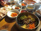安先生のスタイルのビビンバ(昼食)。美味しい。