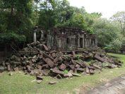 崩れかかった景色が人気のベンメリア遺跡