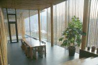 「竹屋 Bamboo Wall」のリビング