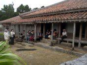 旧家上江洲家(国指定重要文化財建造物、久米島にて)