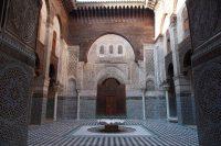モロッコにて。美しいイスラム建築。