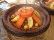 アルガンオイルのタジン(モロッコにて)